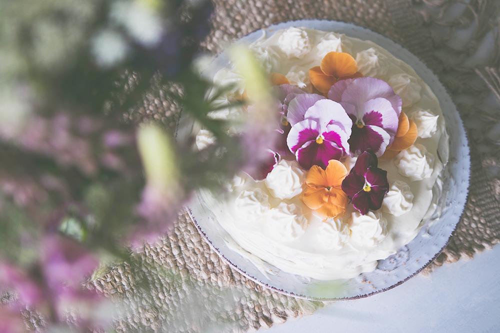 sommarkaka med smak av päron