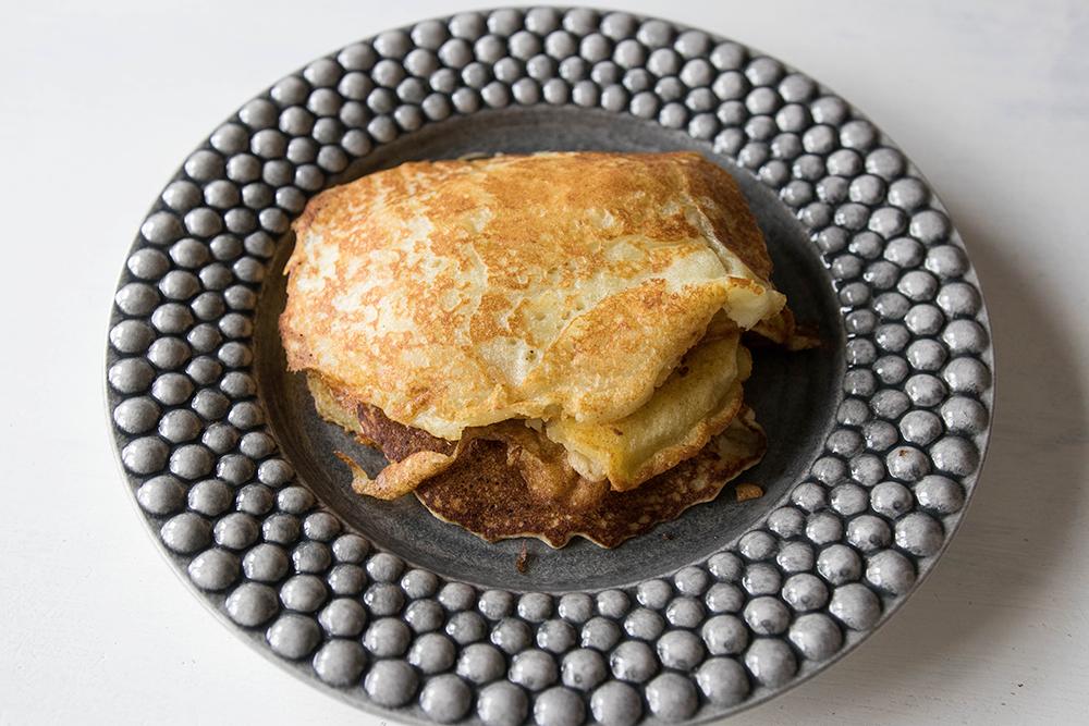 recept på glutenfria amerikanska pannkakor