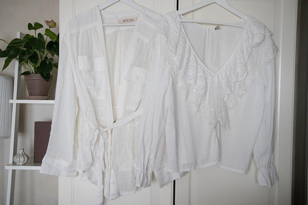 vita blusar från free people och nelly.com
