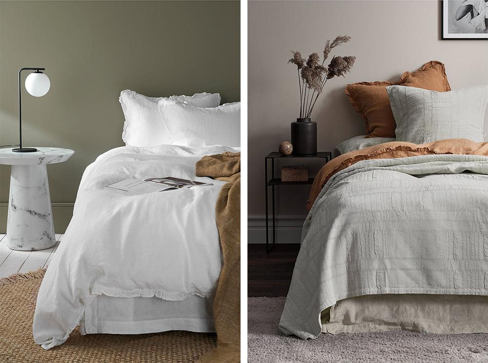 sängkläder och överkast från ellos home deal