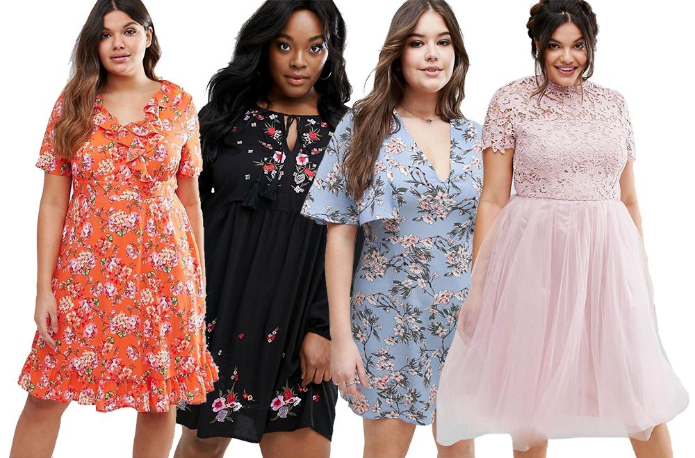 klänning plus size