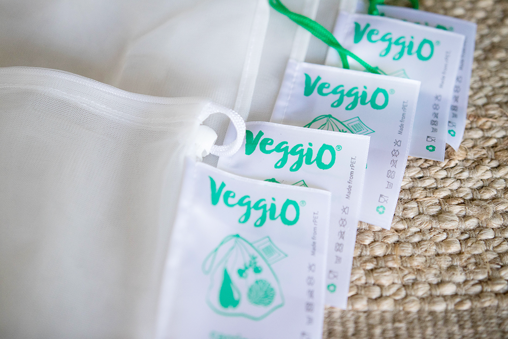 Veggio påsar för frukt och grönt.
