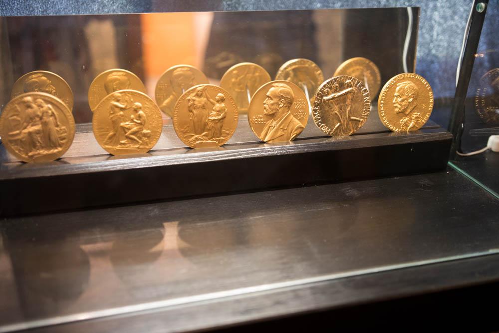 alfred nobel museum nobelmedaljer