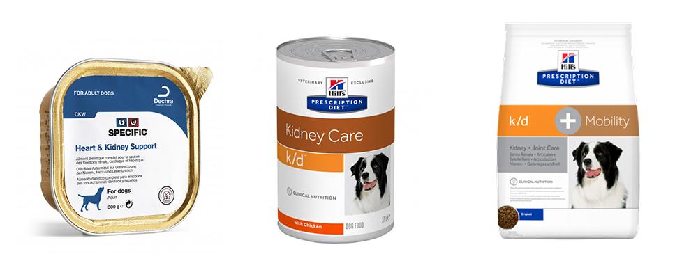 vetzoo njurfoder för hundar. Bra njurfoder anpassat för hundar med njursjukdom. Hills K/D Kidney Care Specific™ Kidney Support CKW Burkar