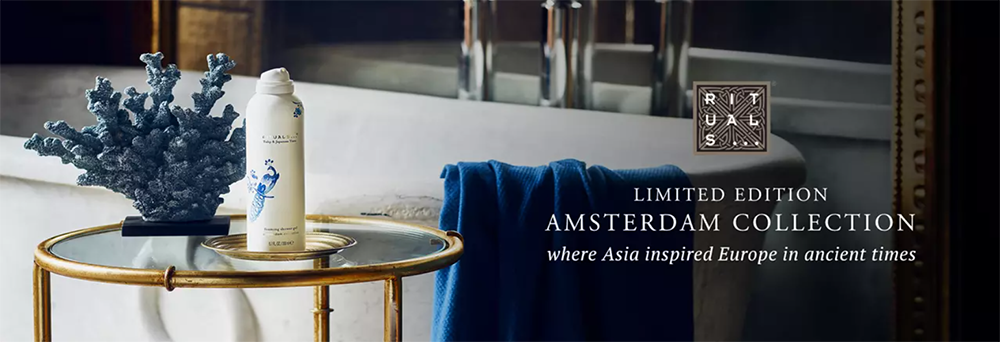 Rituals nya limited edition serie Amsterdam Collection