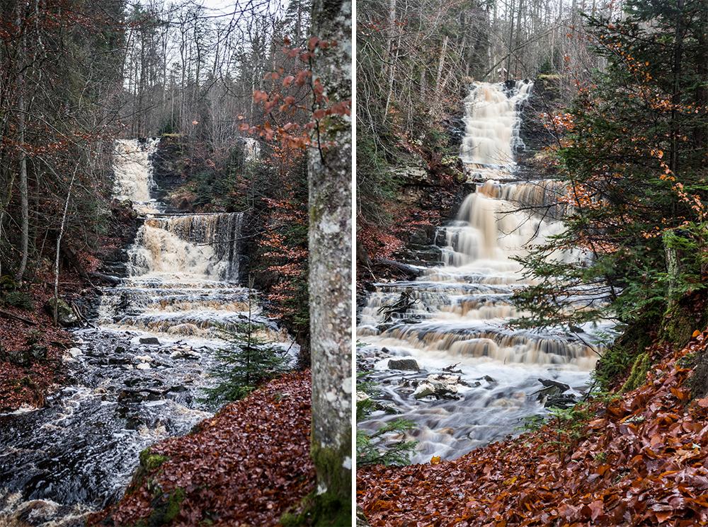 vattenfall i hunneberg