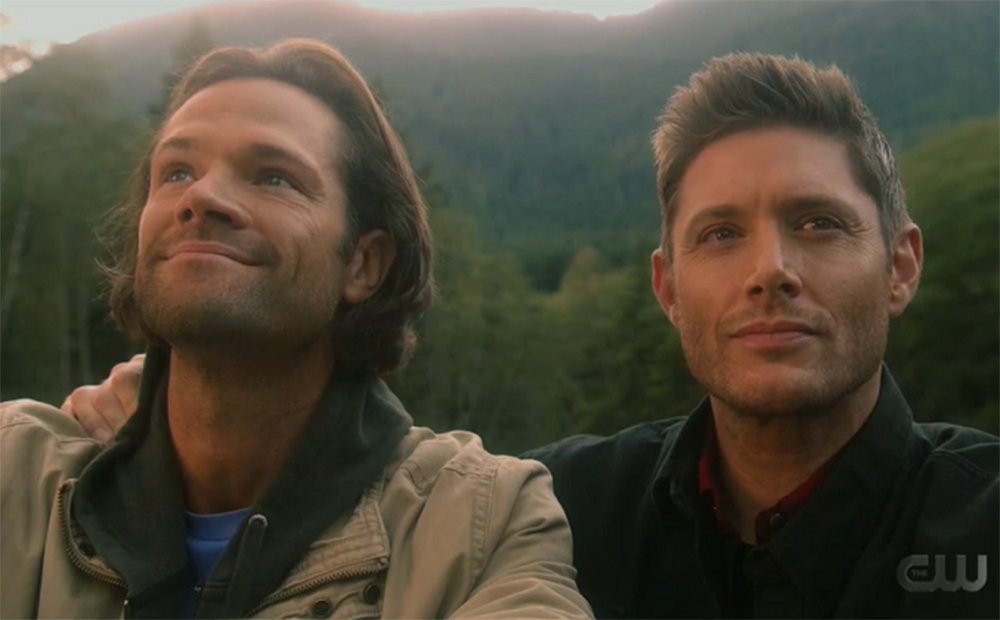 supernatural the finally scene with sam and dean