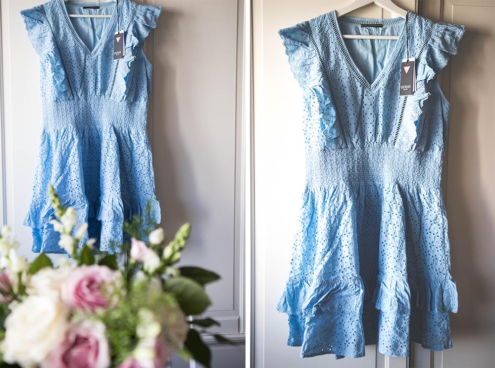 Blått är min sommarfärg. Guess Aisha Dress B694 Starling Blue.