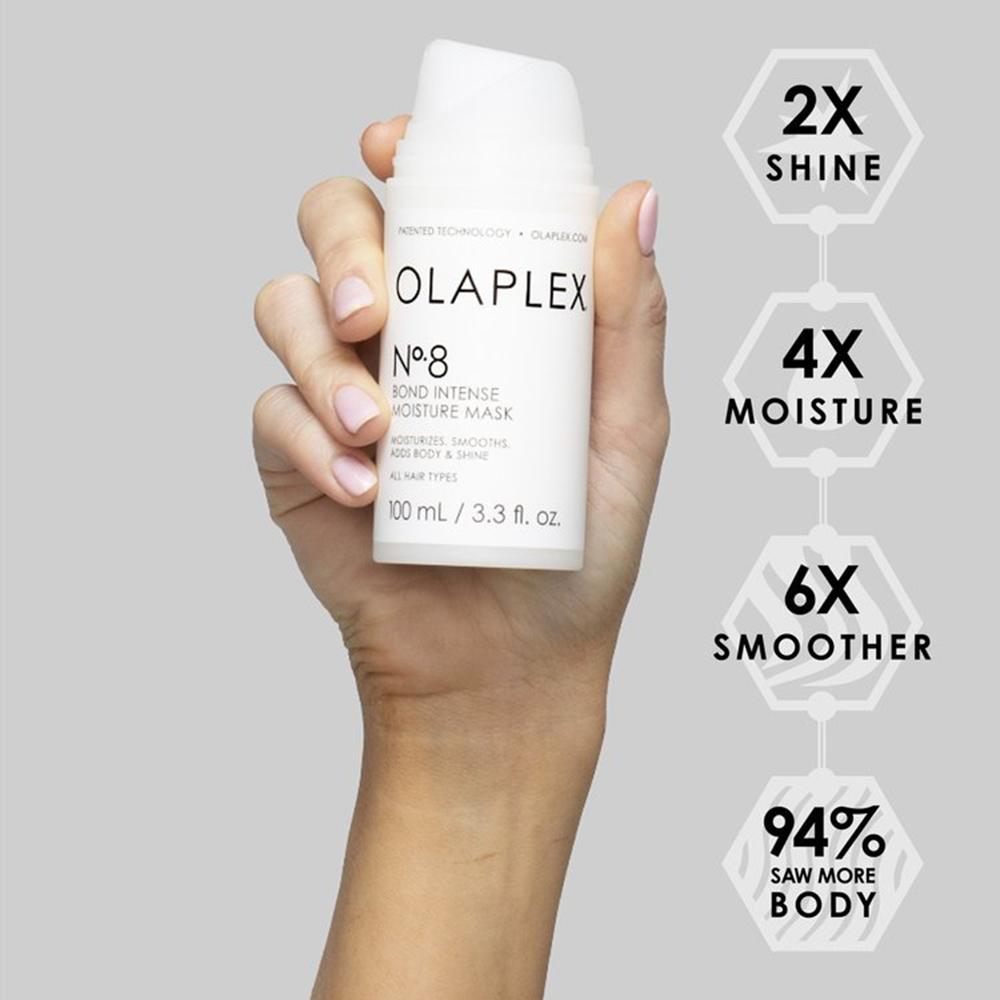 Nyheter hårinpackning No8 från Olaplex