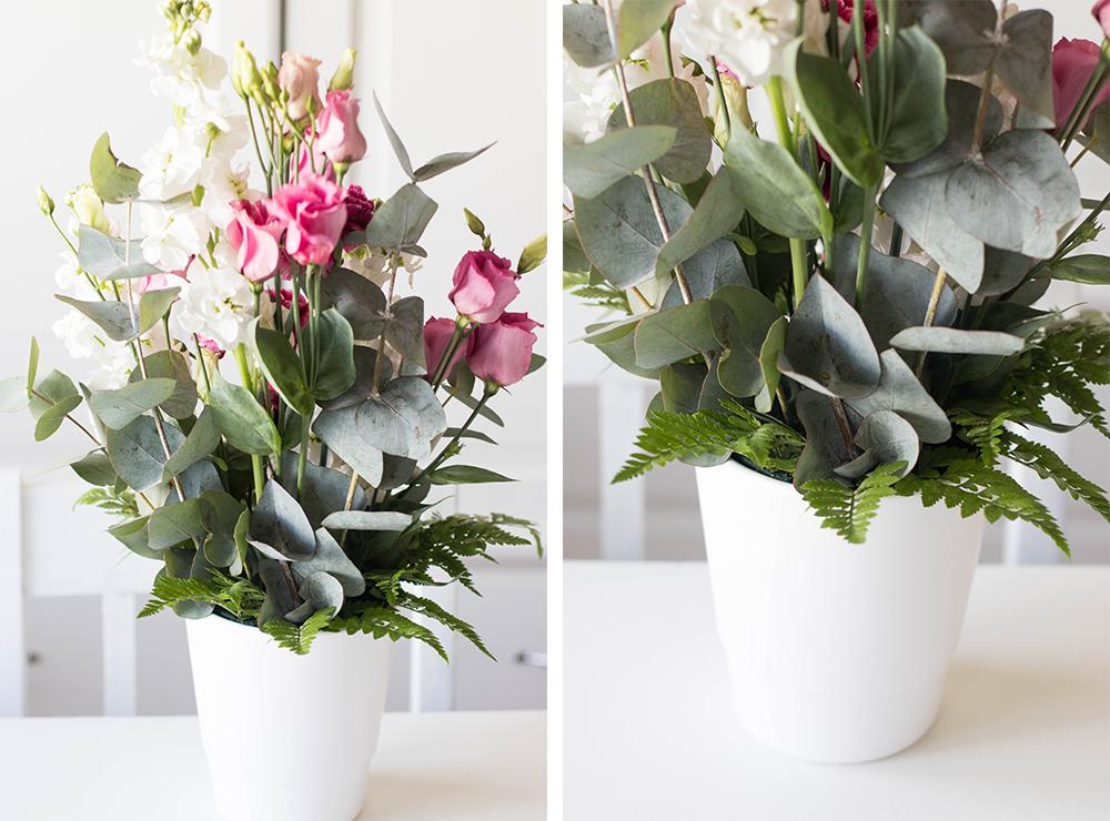 Floristutbildning | Traditionellt arrangemang