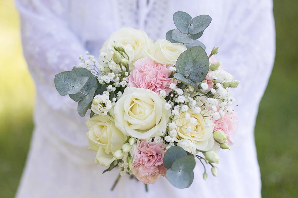 Min första bröllopsbukett | Vackrabuketter.se