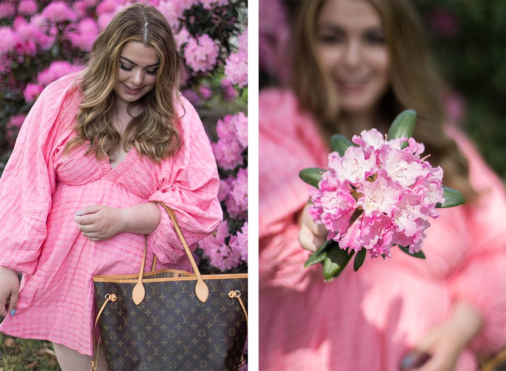 Lorna Luxe mimi pink dress