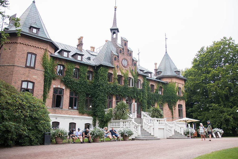 Min sommar 2021. Sofiero slott i Helsingborg.