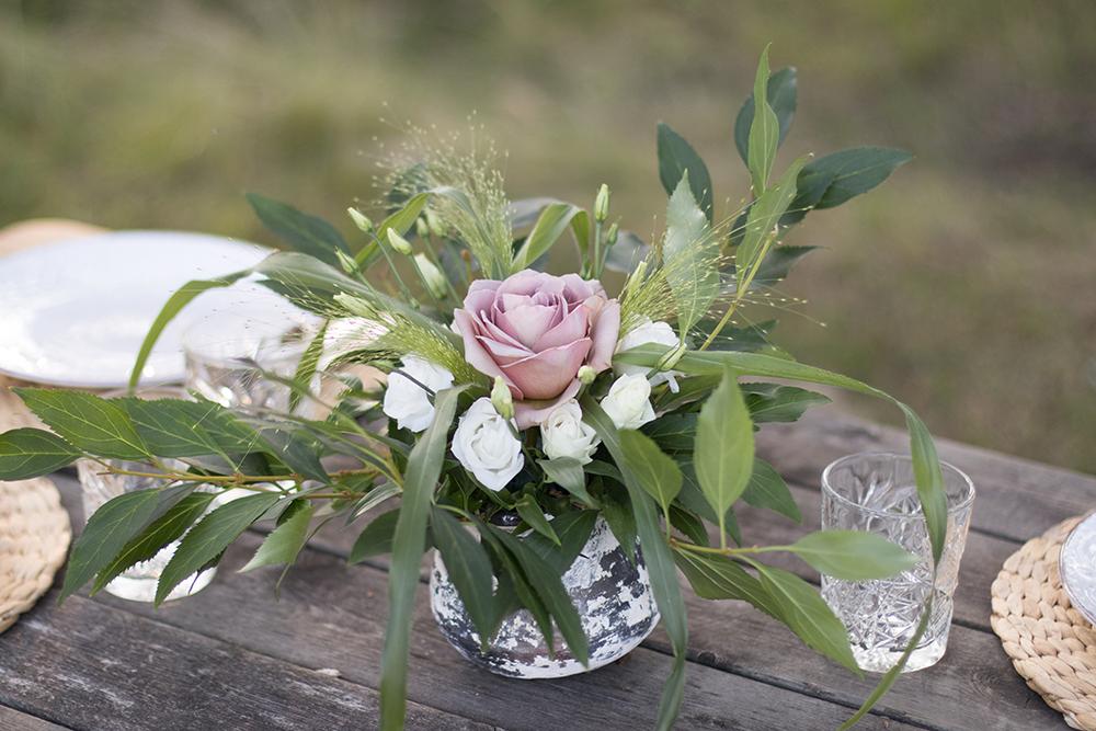 JAG HAR TAGIT EXAMEN! Floristutbildning Boho bröllopsbukett