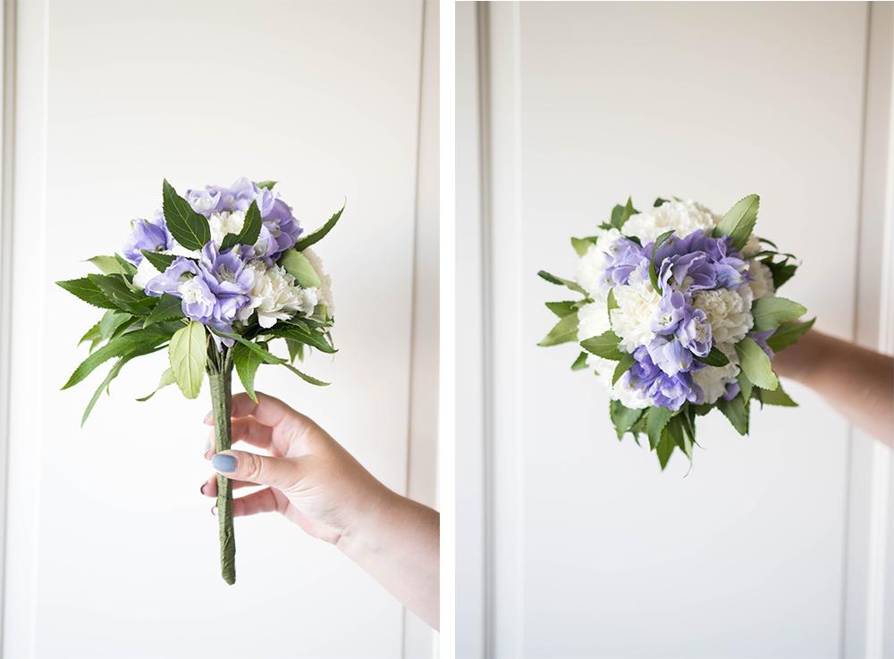 Stiftning av brudbukett | Floristutbildning