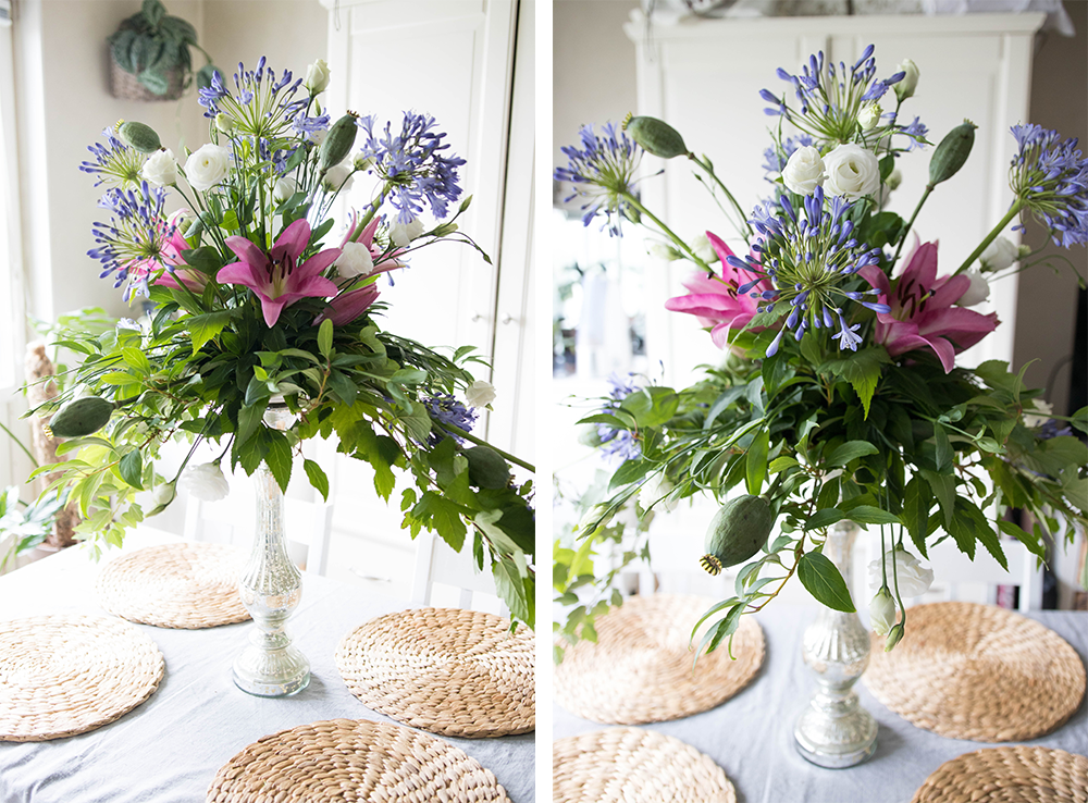 Stort bordsarrangemang | Floristutbildning