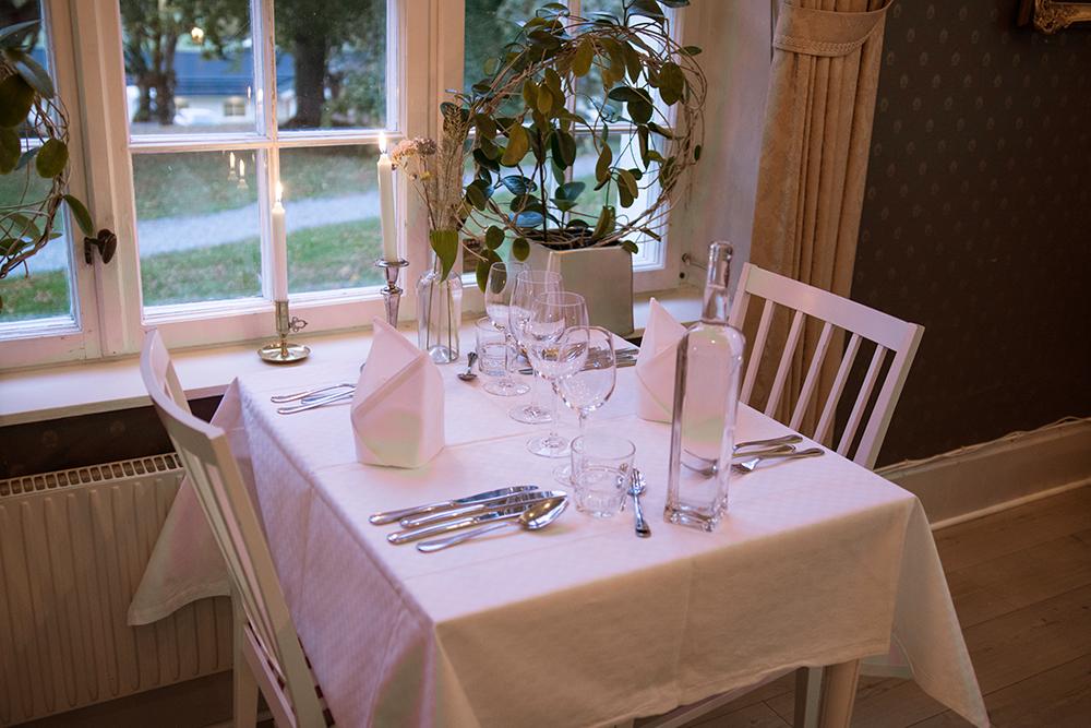 5-rätters middag på Baldersnäs Herrgård