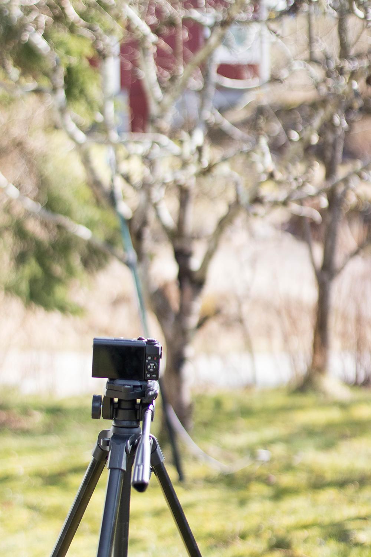 Vloggkameran är i fullgång med att dokumentera. Kommer man sluta blogga.